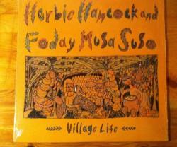 herbie hancock & foday musa suso / village life LP