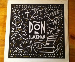 don blackman / rare grooves volume1 12″