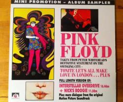 pink floyd / tonite let's all make love in london …plus LP
