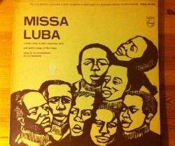 les troubadours du roi baudouin / missa luba LP