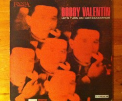 bobby valentin / let's turn on arrebatarnos LP