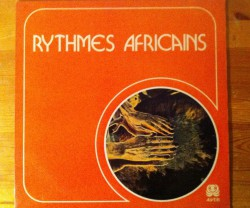 m. baroty et a. dieng / rythmes africains LP