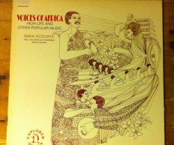 saka aquaye / voices of africa LP