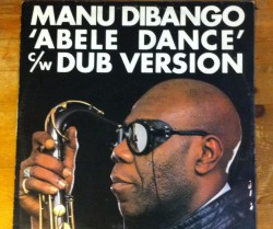 "manu dibango / abele dance 12"""