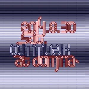 "2014.8.30 (sat.) ""outmuzik""@domina omote"