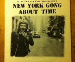new york gong / about time LP