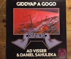 "ad visser & daniel sahuleka  / giddyap a gogo 12"""