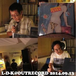 """2014.9.13(sat.) """"L-D-K"""""""