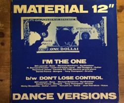 """material / I'm the one 12"""""""