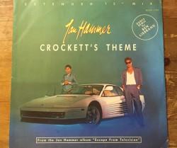 "jan hammer / crockett's theme 12"""