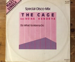 the cage feat. nona hendryx  / do what ya wanna do 12""