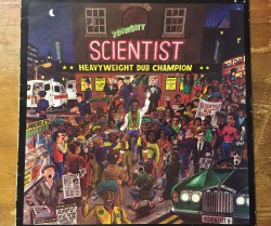 scientist  / heavy weight dub champion LP