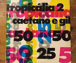 caetano veloso e gilberto gil  / tropicalia 2 LP