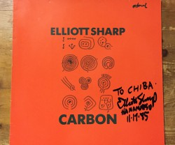 elliott sharp / carbon LP