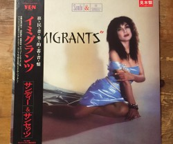 sandii & the sunsetz / immigrants LP