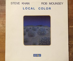 steve khan & rob mounsey  / local color LP