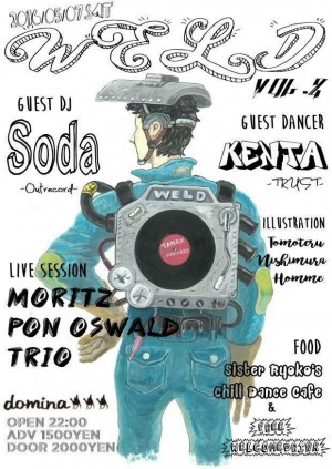 "2016.5.7(sat.) ""WELD vol.2"" @domina"