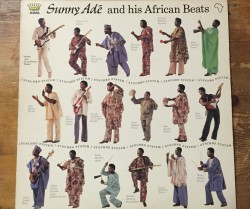 king sunny ade and his african beats  / synchro system LP