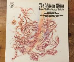 dumisani abraham maraire  / the african mbira LP