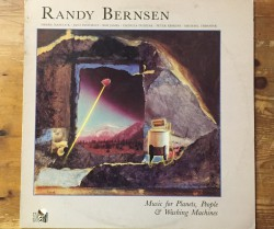 randy bernsen  / music for planets, people  & washing machines LP