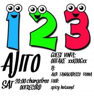 """2016.12.3(sat.) """"AJITO"""""""