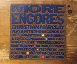 christian marclay / more encores 10""