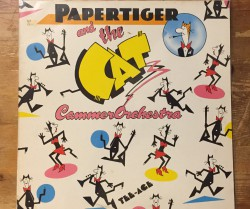papertiger and the cat cammerorchestra / tee-age LP