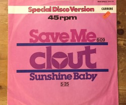 clout / save me 12""